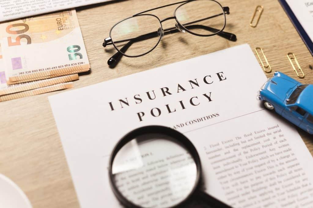 Il existe 3 types d'assurance auto.